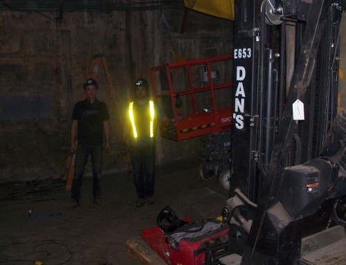 Canada Post Infill Tunnel Project Downtown Vancouver